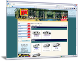Example of SpecBase Online Showroom